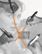 15-10 bild zu frauen Frauenwahlrecht_Plakat von Kathrin Deusch