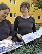 v.l. Birgit Heidke und Astrid Mischlich